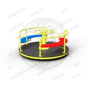 Карусель детской игровой площадки КрМ(Б)-02 исполнение 04