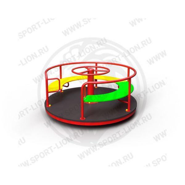Карусель детской игровой площадки КрМ(Б)-02 исполнение 05