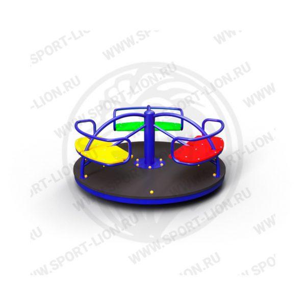 Карусель детской игровой площадки КрМ(Б)-02 исполнение 02
