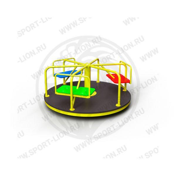 Карусель детской игровой площадки КрМ(Б)-02 исполнение 01