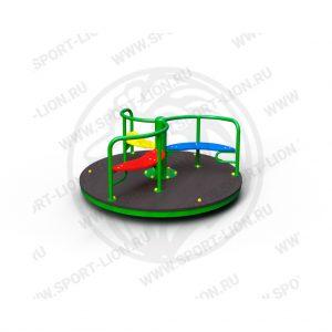 Карусель детской игровой площадки КрМ(Б)-02 исполнение 03