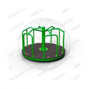 Карусель детской игровой площадки КрМ(Б)с-02 исполнение 07