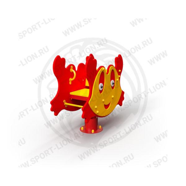 Качалка детской игровой площадке Качалка-КаМ-02_исполнение-16