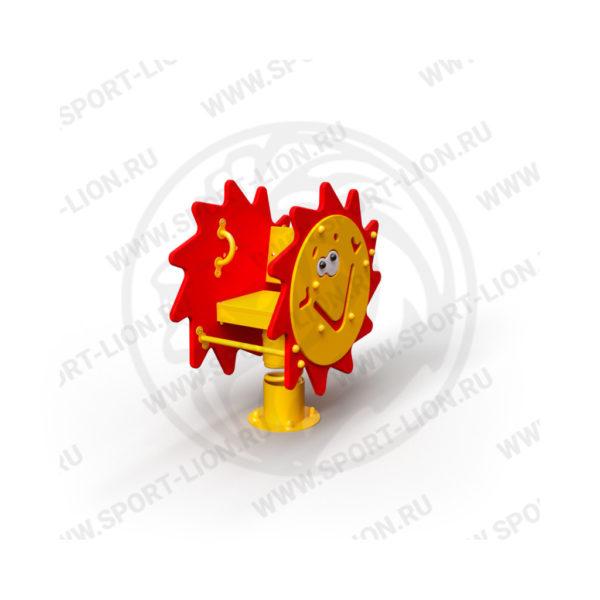 Качалка детской игровой площадке Качалка-КаМ-02_исполнение-21