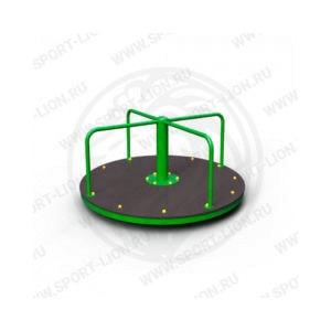 Карусель детской игровой площадки КрМ(Б)с-02 исполнение 01