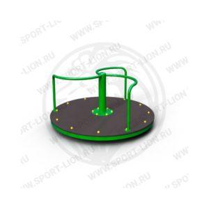Карусель детской игровой площадки КрМ(Б)с-02 исполнение 06